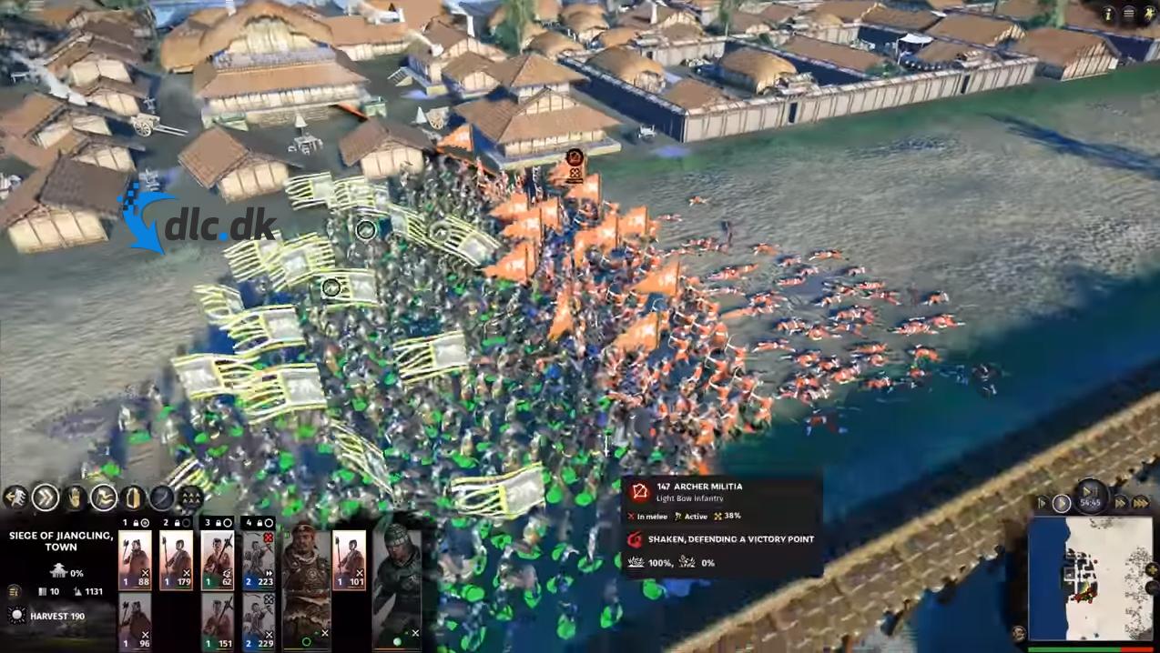 Screenshot af Total War: Three Kingdoms