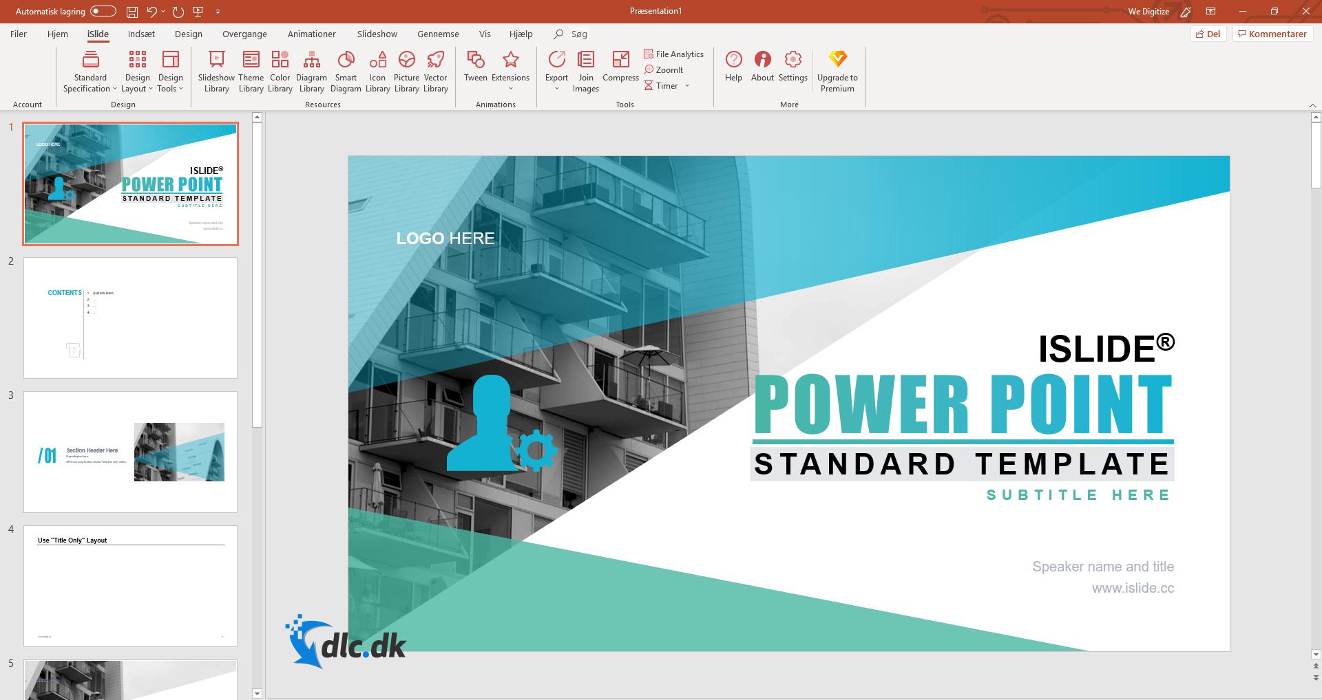 Screenshot af iSlide Tools