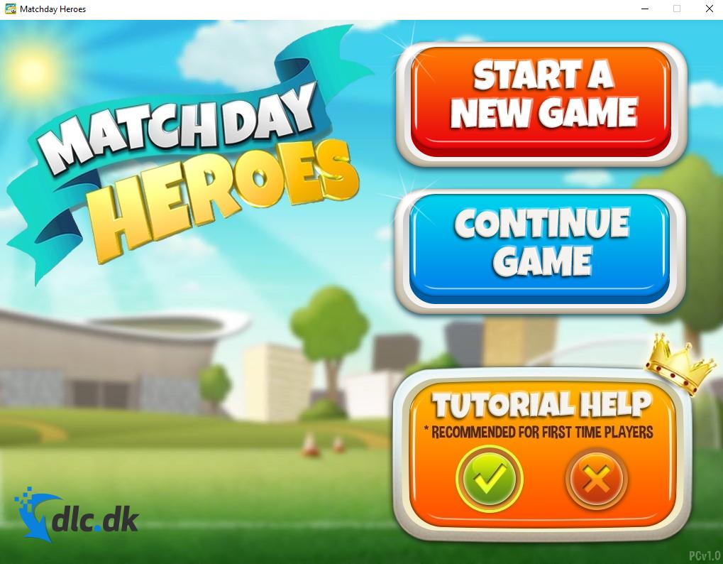 Screenshot af Matchday Heroes
