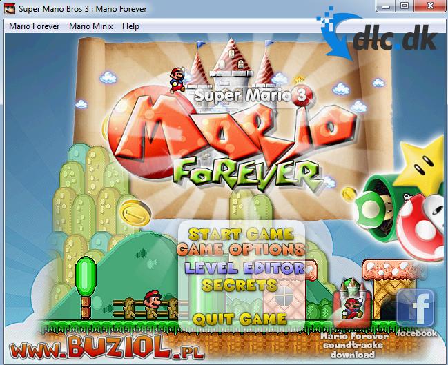 Screenshot af Super Mario 3: Mario Forever