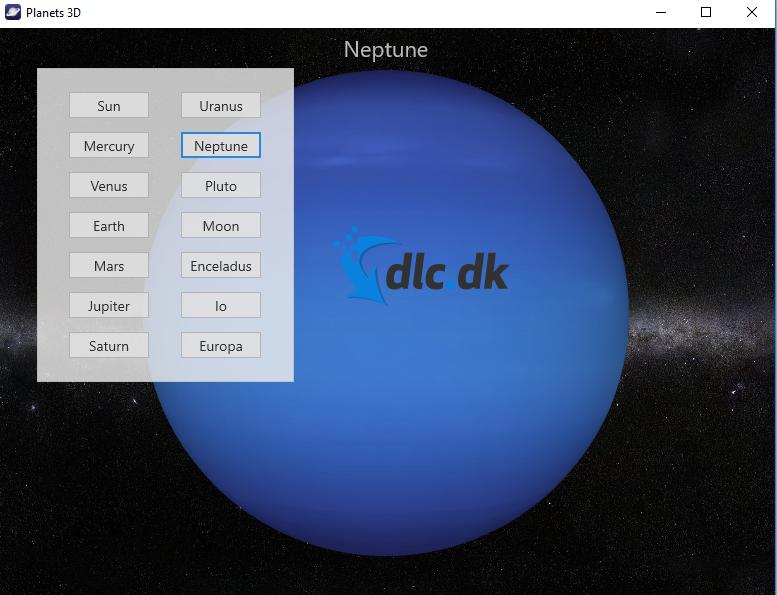 Screenshot af Planets 3D