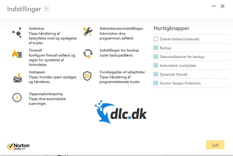 Screenshot af Norton 360 with LifeLock Select