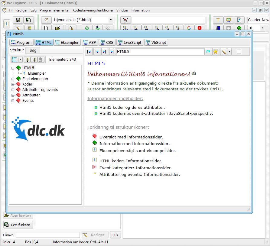 Screenshot af fboSkrivScript