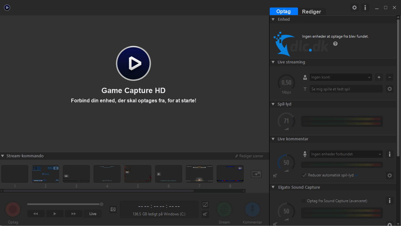 Screenshot af Game Capture