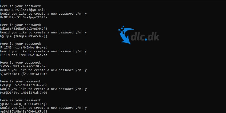 Screenshot af SmartPass