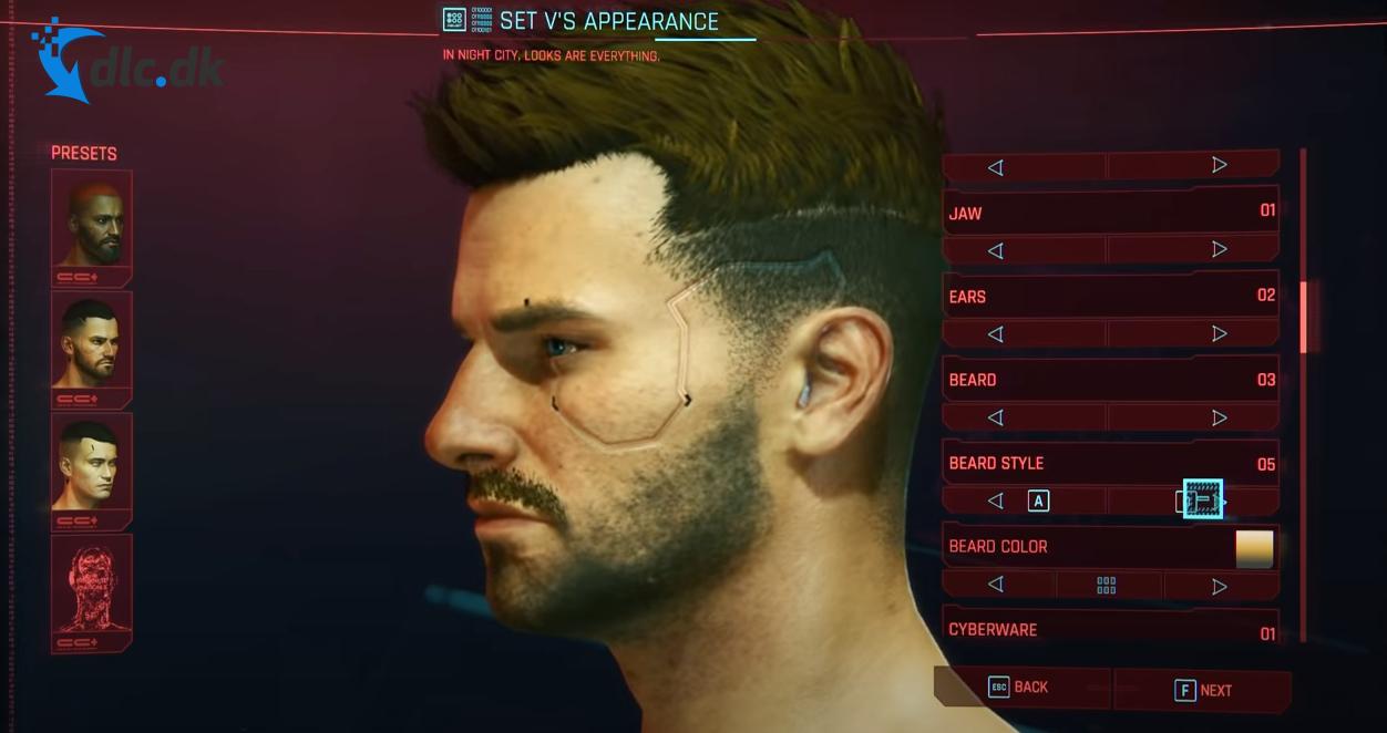 Screenshot af Cyberpunk 2077
