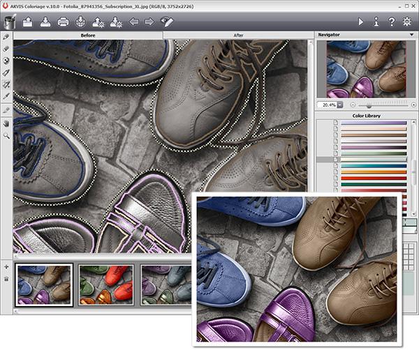 Screenshot af Coloriage