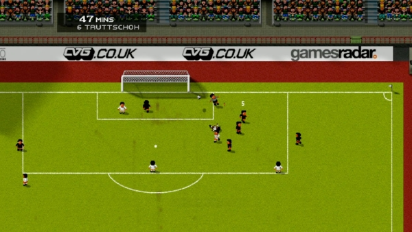 Screenshot af Sensible World of Soccer (SWOS)