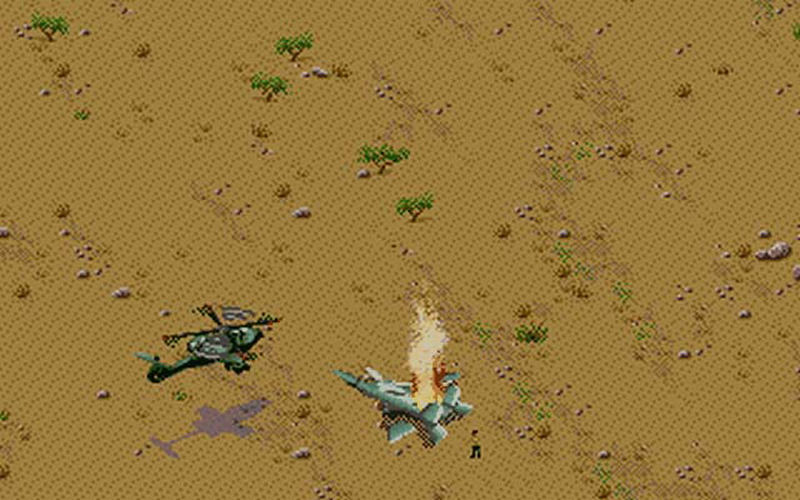 Screenshot af Desert Strike: Return to the Gulf