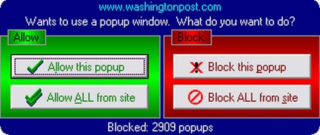 Screenshot af Bayden PopupPopper