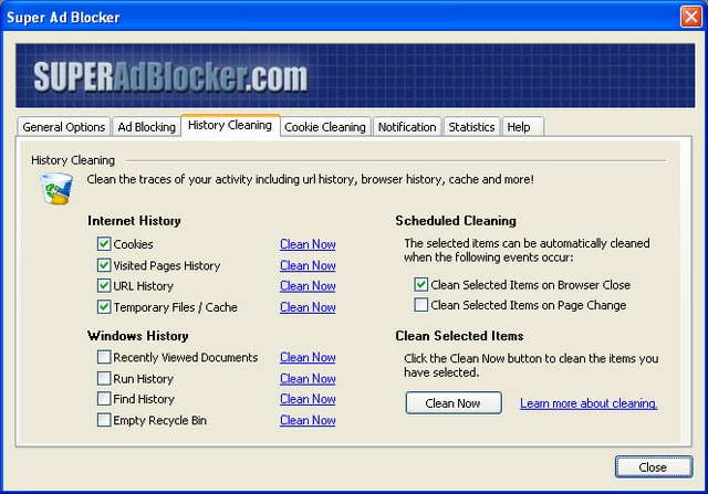 Screenshot af Super Ad Blocker