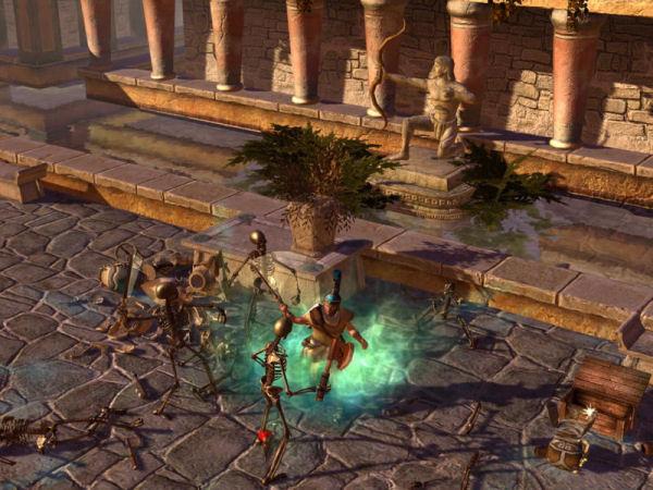 Screenshot af Titan Quest