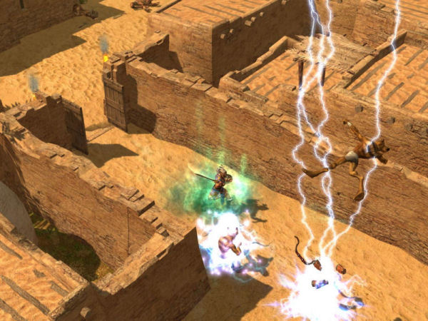Screenshot af Titan Quest
