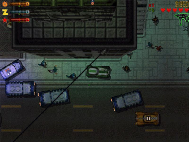 Screenshot af Grand Theft Auto (GTA)