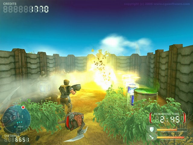 Screenshot af DevastationZone Troopers