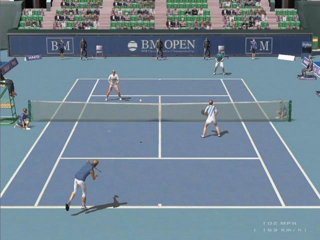 Screenshot af Dream Match Tennis Pro