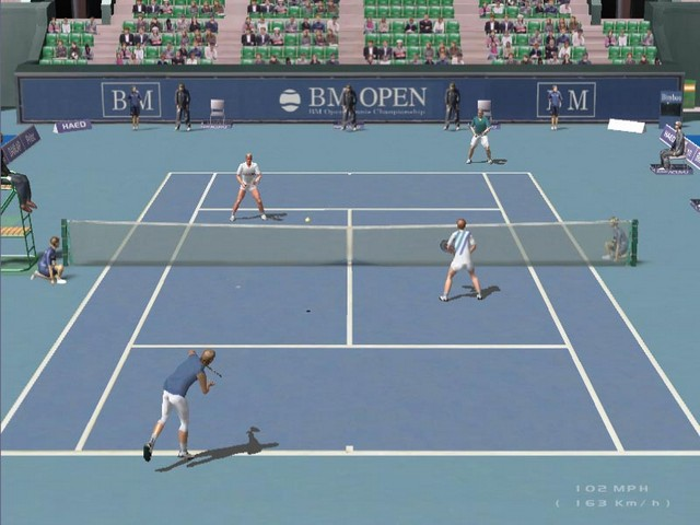 Screenshot af Dream Match Tennis Pro