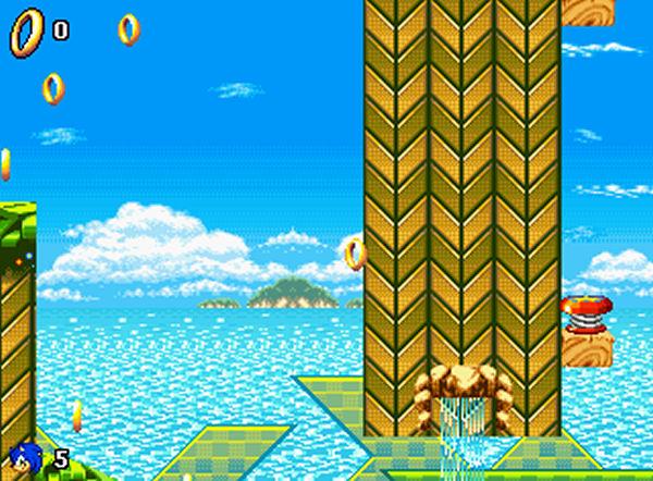 Screenshot af Neo Sonic Universe