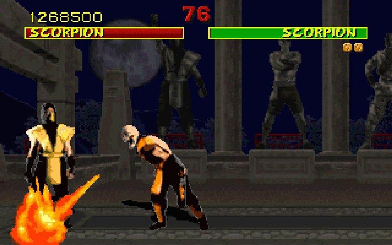 Screenshot af Mortal Kombat
