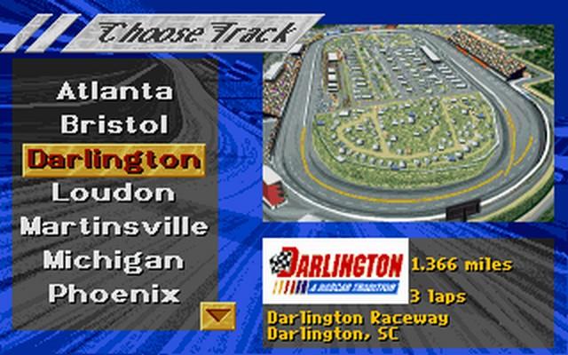 Screenshot af NASCAR Racing