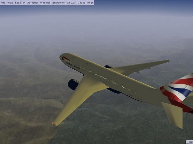 Screenshot af FlightGear