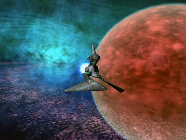 Screenshot af Vega Strike