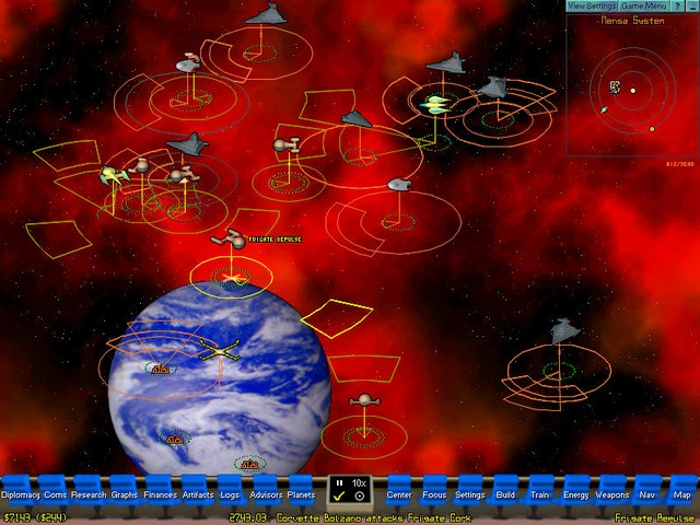 Screenshot af Starships Unlimited