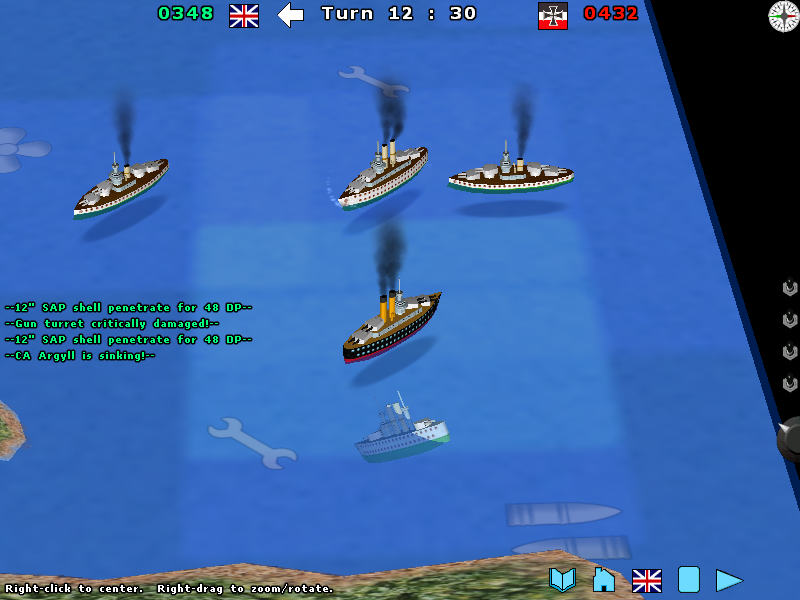 Screenshot af Battleship Chess