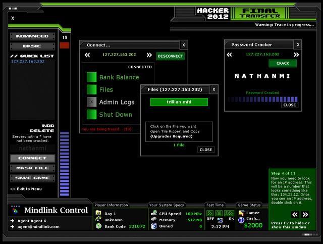Screenshot af Hacker 2012 - Final Transfer