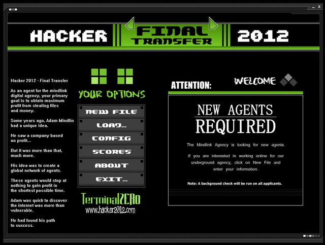 Screenshot af Hacker 2012 - Final Transfer