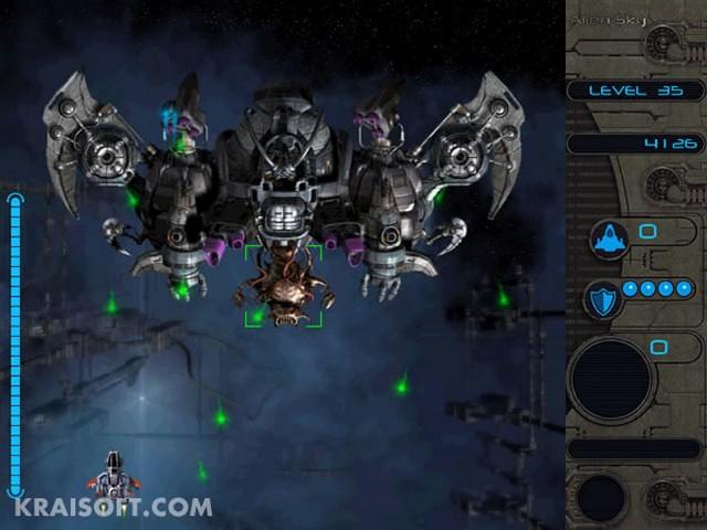 Screenshot af Alien Sky
