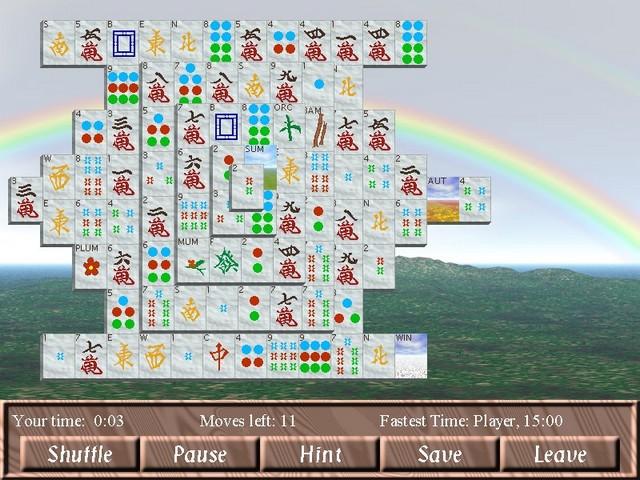 Screenshot af Champion Mahjongg