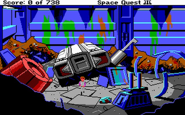 Screenshot af Space Quest 3 - The Pirates of Pestulon