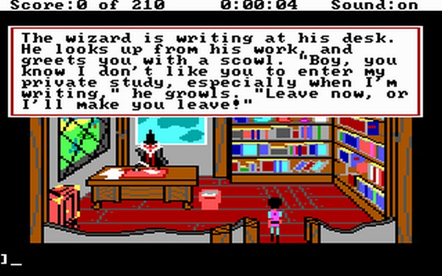 Screenshot af King's Quest 3 - To Heir is Human
