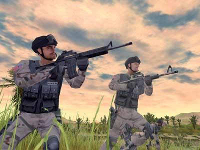 Screenshot af Delta Force - Black Hawk Down