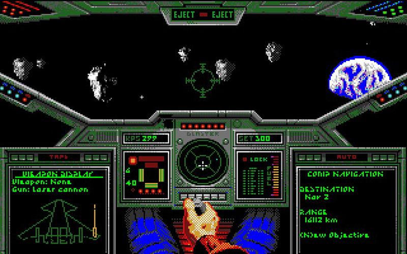 Screenshot af Wing Commander
