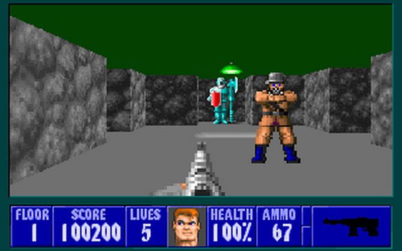 Screenshot af Spear of Destiny
