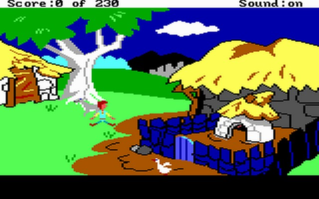 Screenshot af The Black Cauldron