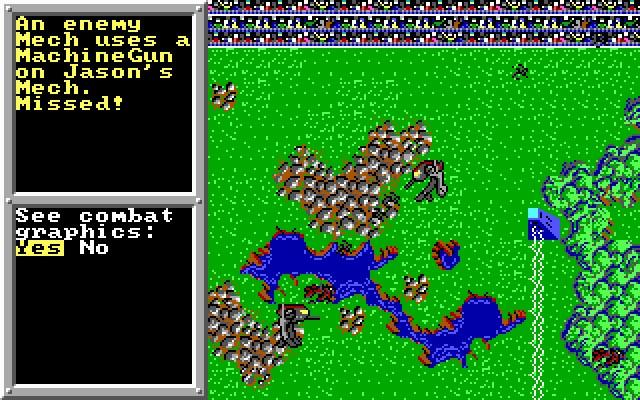 Screenshot af BattleTech - The Crescent Hawk's Inception
