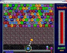 Screenshot af Snood