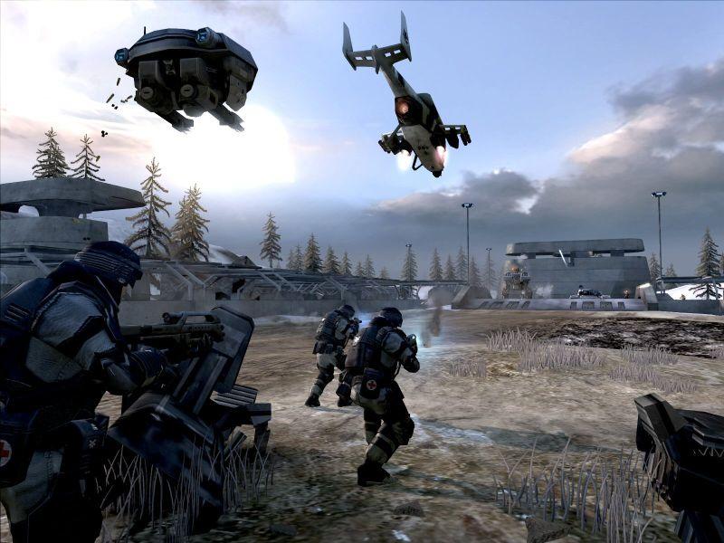 Screenshot af Battlefield 2142