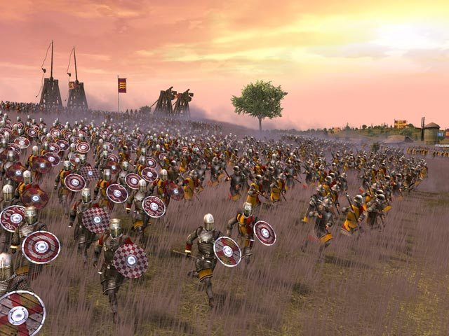 Screenshot af Medieval II - Total war