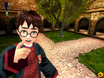 Screenshot af Harry Potter