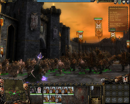 Screenshot af Warhammer - Mark of Chaos