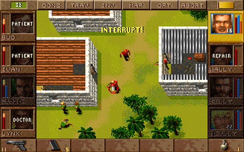 Screenshot af Jagged Alliance