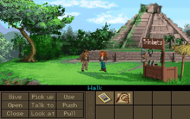 Screenshot af Indiana Jones and the Fate of Atlantis