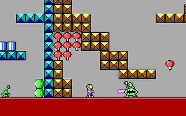 Screenshot af Commander Keen 1- Marooned on Mars
