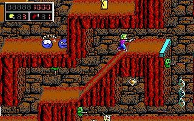 Screenshot af Commander Keen 4 - Secret of the Oracle