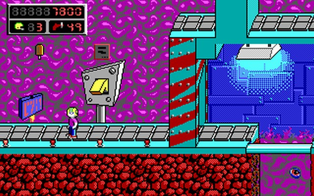 Screenshot af Commander Keen 6 - Aliens Ate My Baby Sitter!