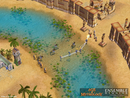 Screenshot af Age of Mythology